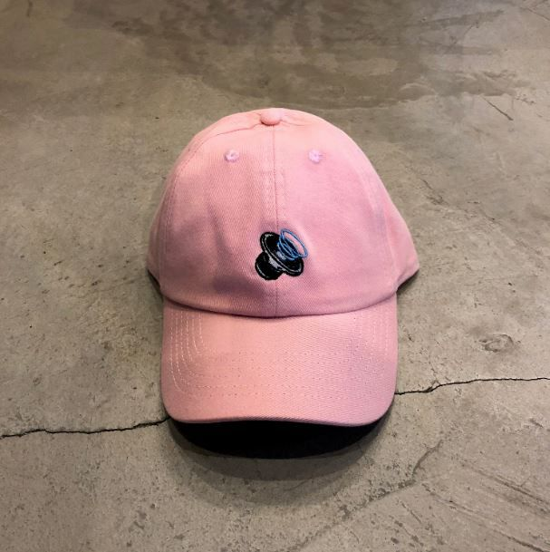 "BONÉ DAD HAT OVERCOME CO ""AUDIO"" ROSA"