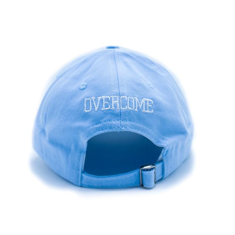 "Dad Hat Overcome ""Logo"" Azul Claro/Branco"