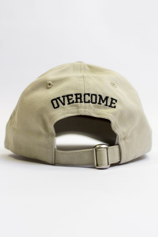 "Dad Hat Overcome ""Logo"" Bege"