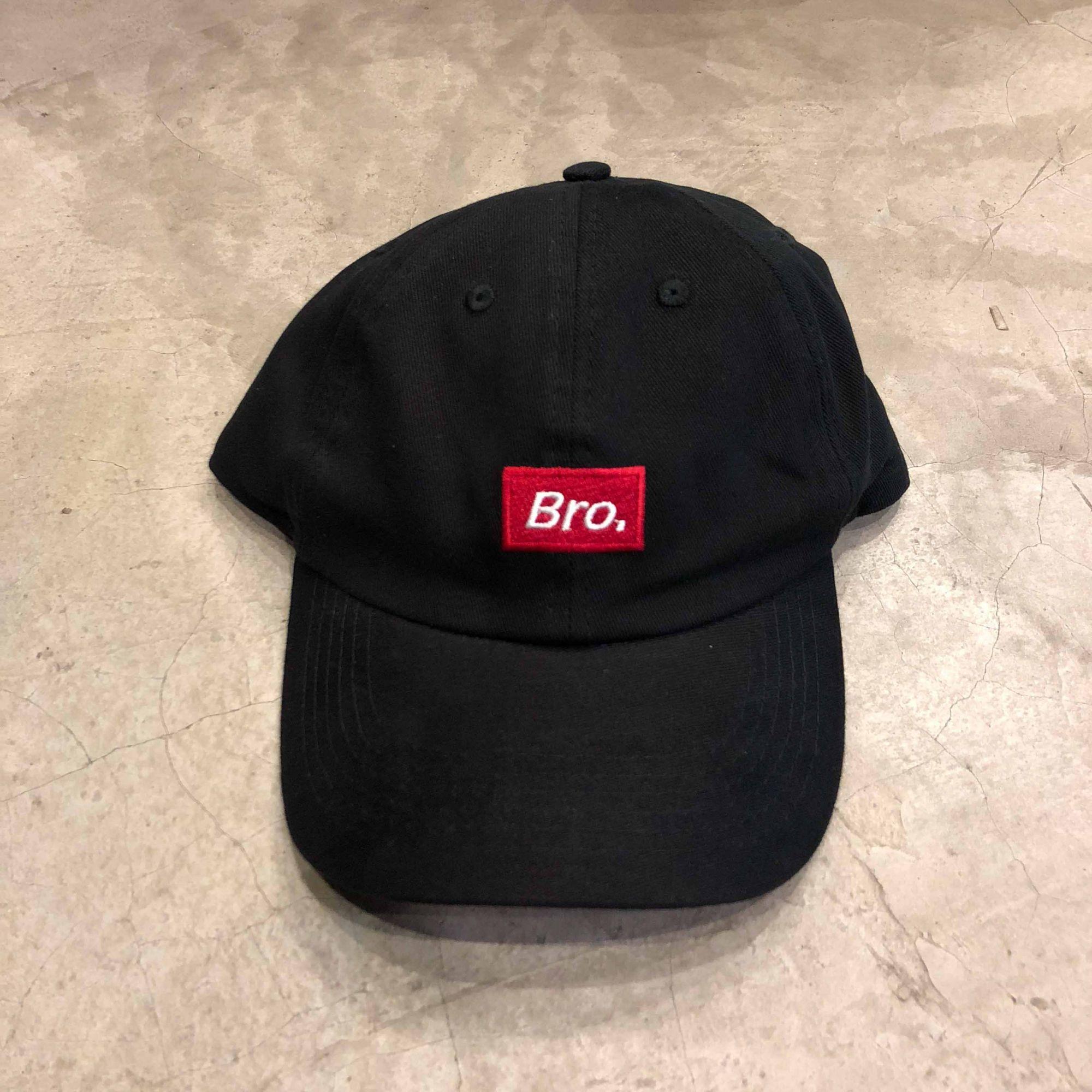 """Dad Hat Overcome """"BRO"""" Preto"""