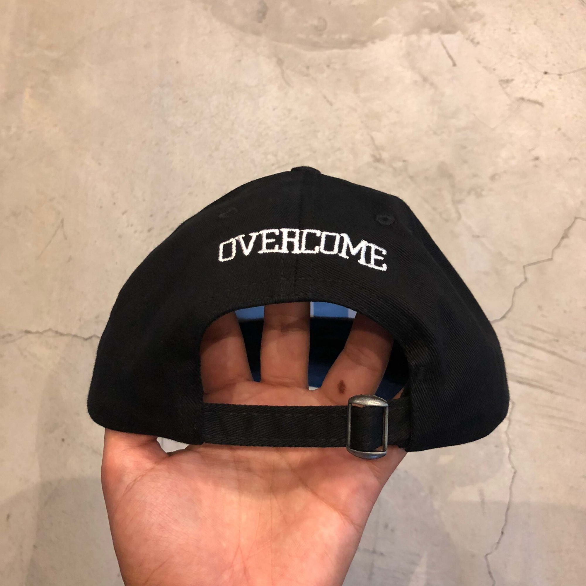 "Dad Hat Overcome ""Get Bag"" Preto"