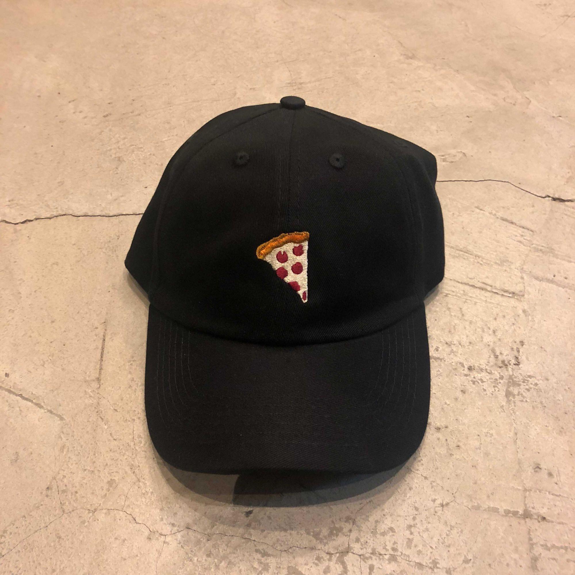 """Dad Hat Overcome """"Pizza"""" Preto"""