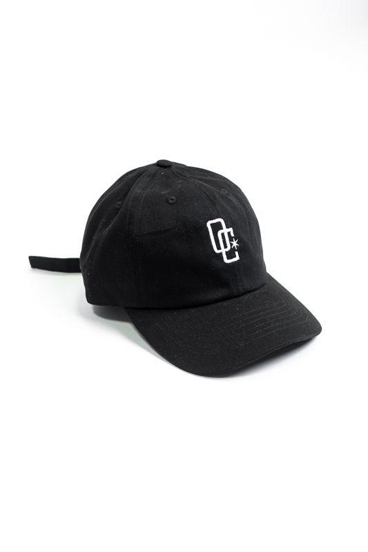 """Dad Hat Overcome """"Logo"""" Preto/Branco"""