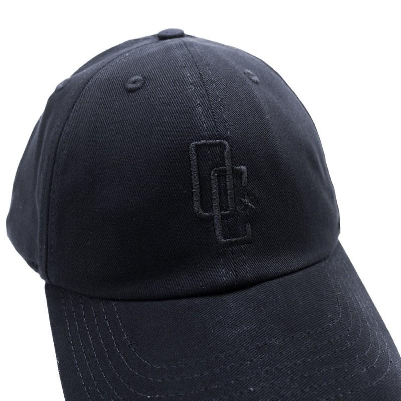 """Dad Hat Overcome """"Logo"""" Preto/Preto"""