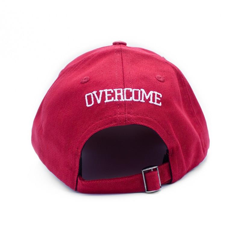 "Dad Hat Overcome ""Logo"" Vermelho/Branco"