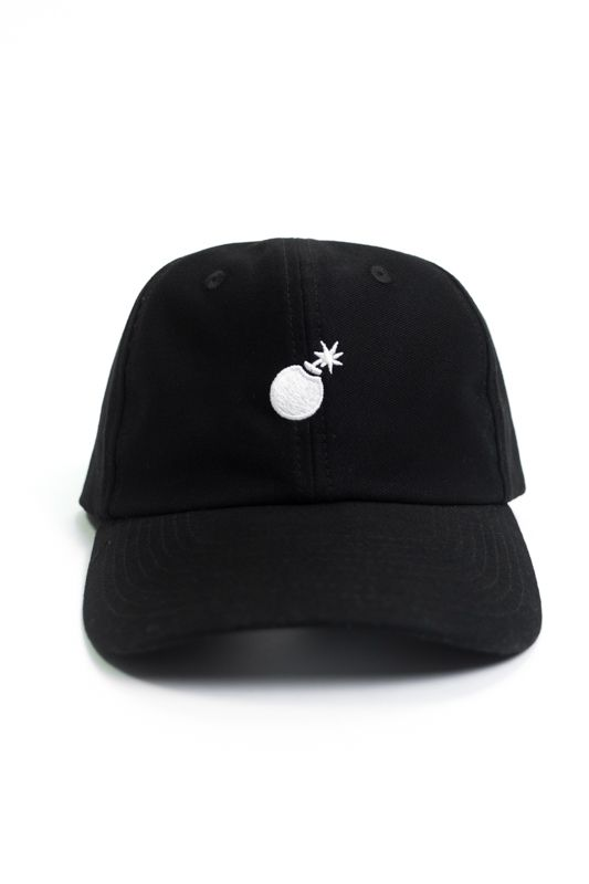 "Boné Dad Hat The Hundreds ""Bomb"" Preto"