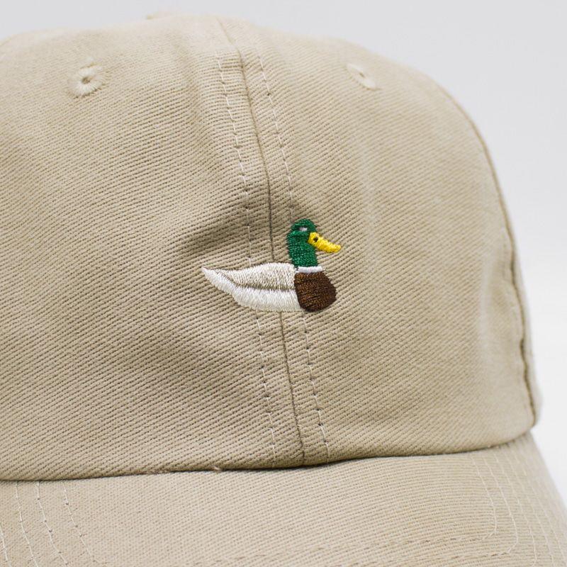"Boné Dad Hat True Heart ""Duck"" Bege"