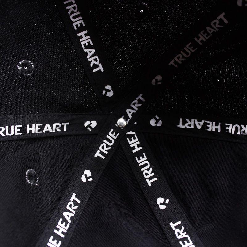 "Boné Dad Hat True Heart ""Hamburguer"" Preto"