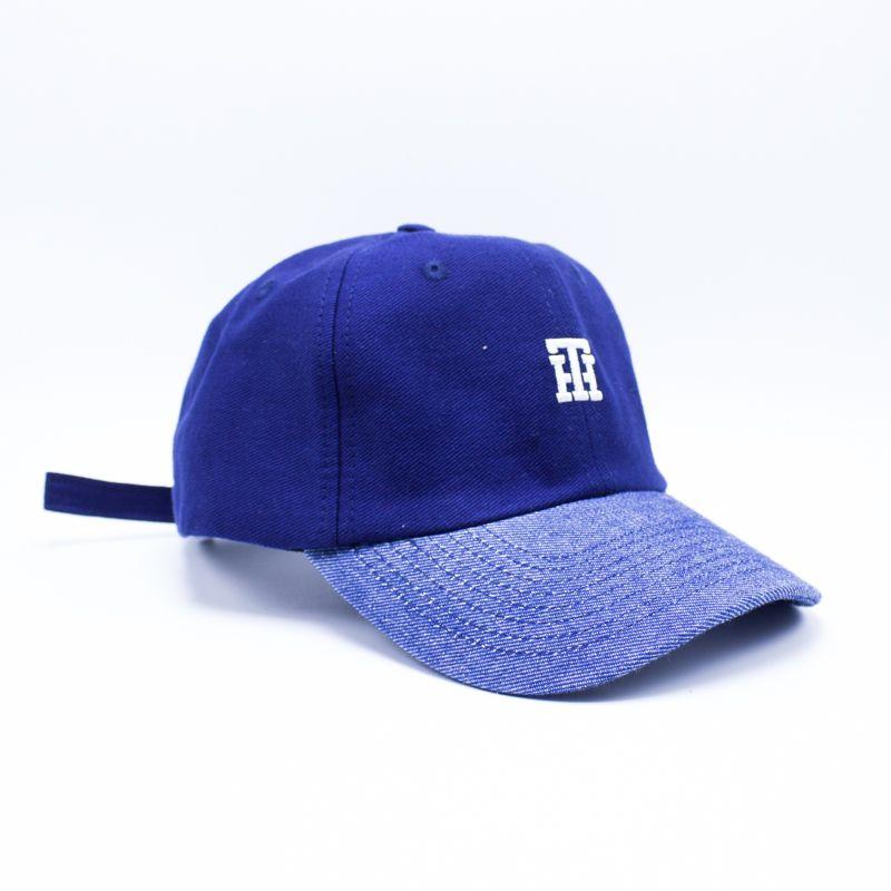 "Boné Dad Hat True Heart ""TH"" Azul"