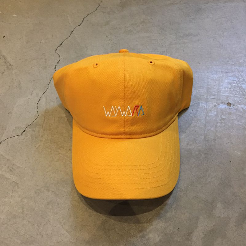 "Boné Dad Hat Wayward ""Circle"" Amarelo"
