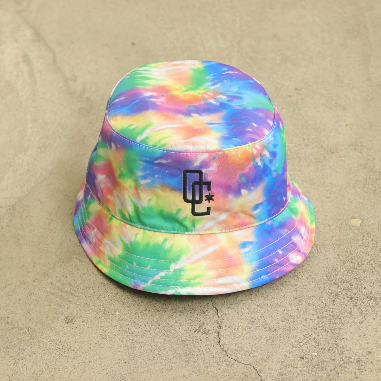"Bucket Overcome ""Oc Logo"" Tie Dye Splash"