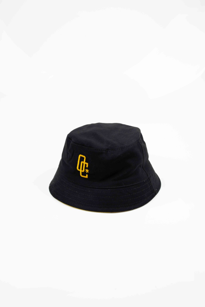 Bucket Overcome x Cimed Dupla Face Logo Preto/Amarelo