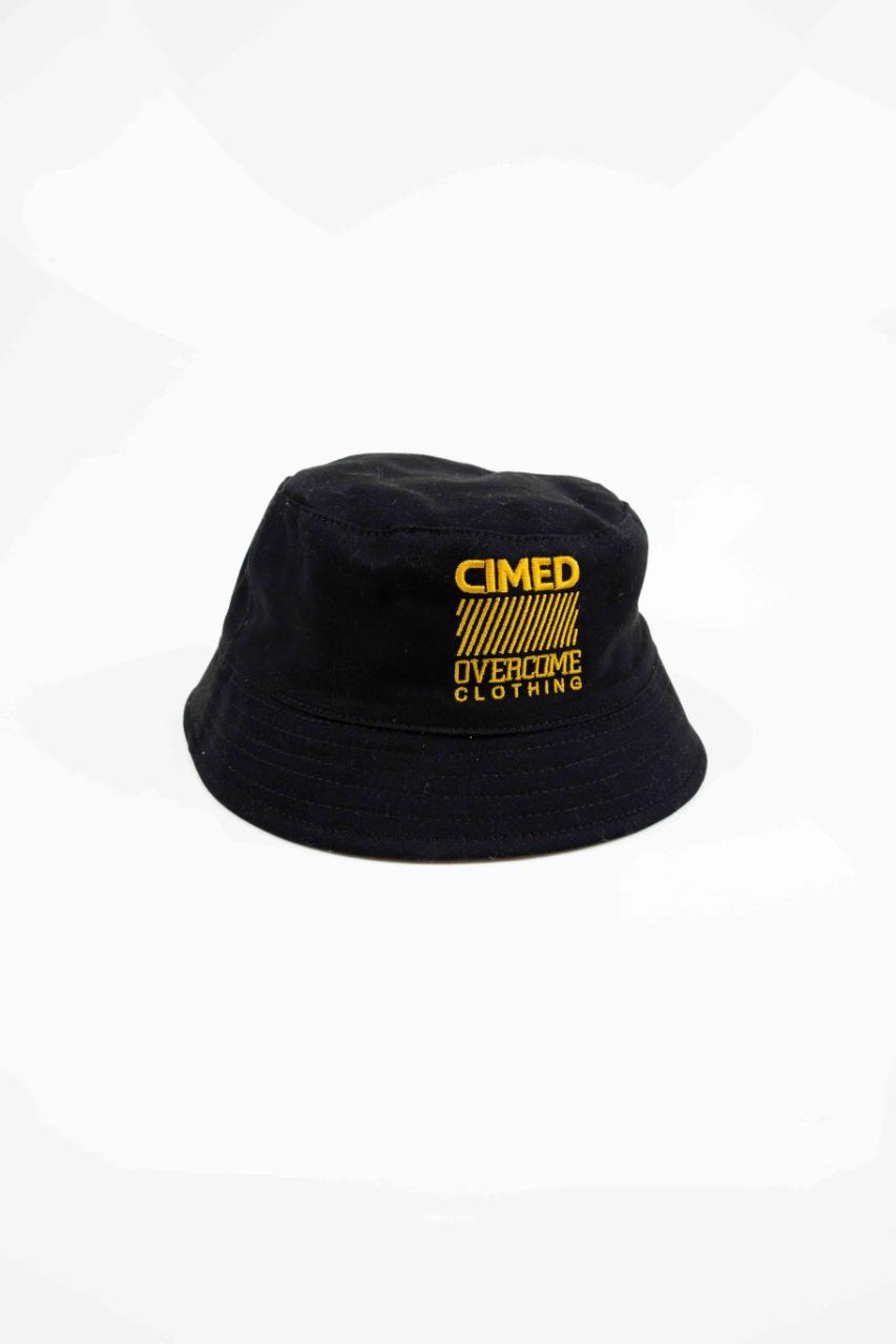 Bucket Overcome x Cimed Dupla Face Script Preto/Amarelo