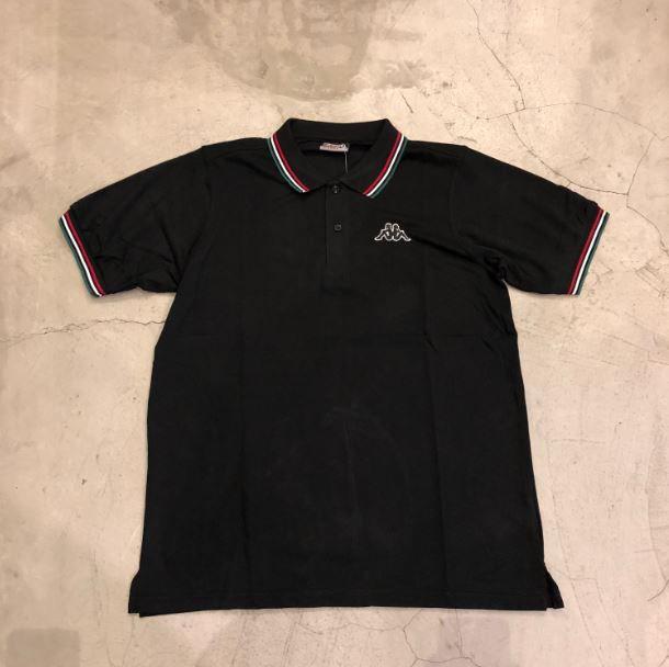 Camisa Polo Kappa Preta