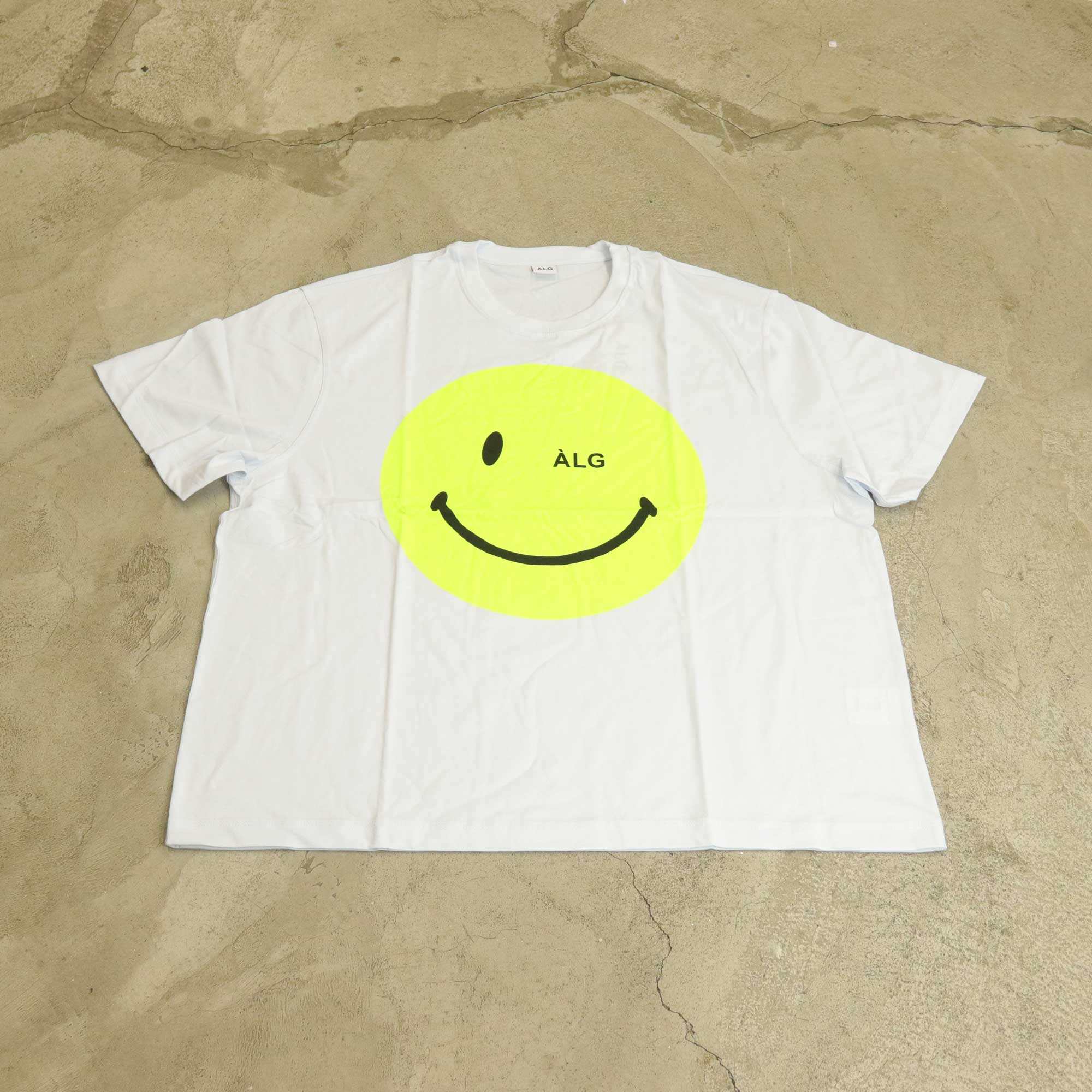 "Camiseta ÀLG ""Big Smile"" Branca"