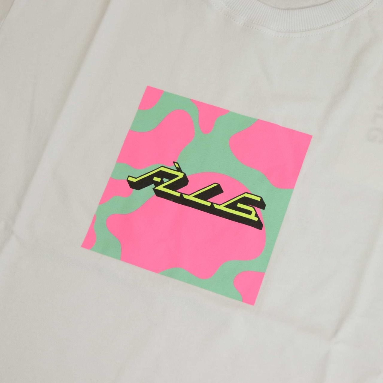"""Camiseta ÀLG """"Box Logo"""" Branca"""