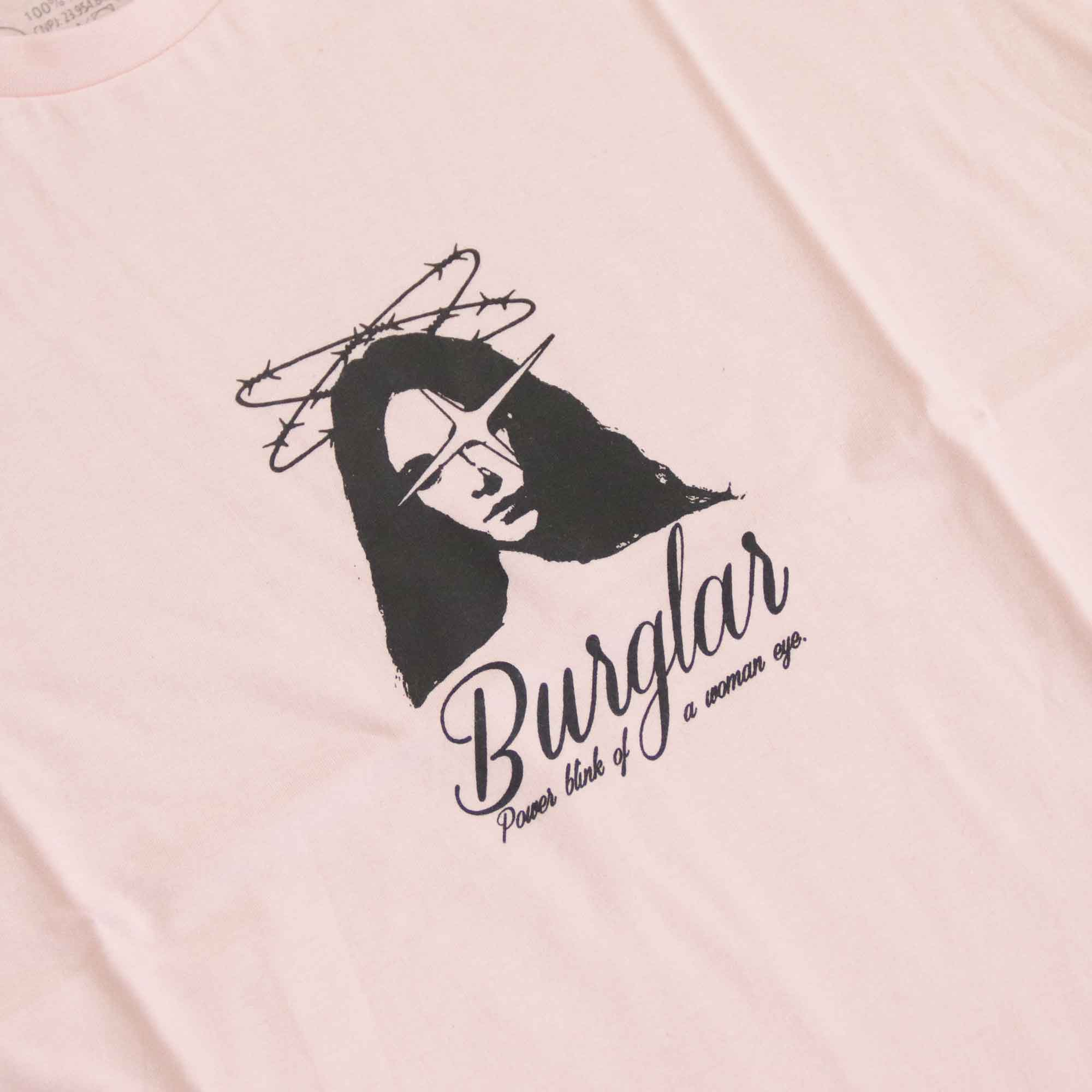 "Camiseta Burglar ""Woman Blink"" Rosa"