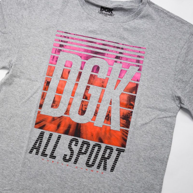 "Camiseta DGK ""All Sport"" Cinza"