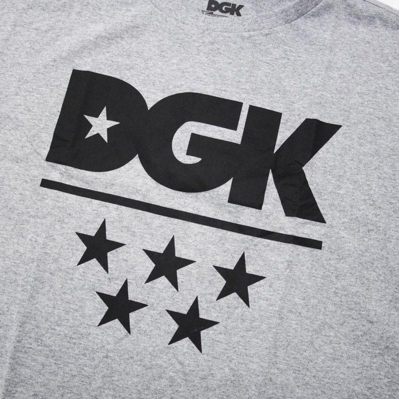 "Camiseta DGK ""All-Star"" Cinza"