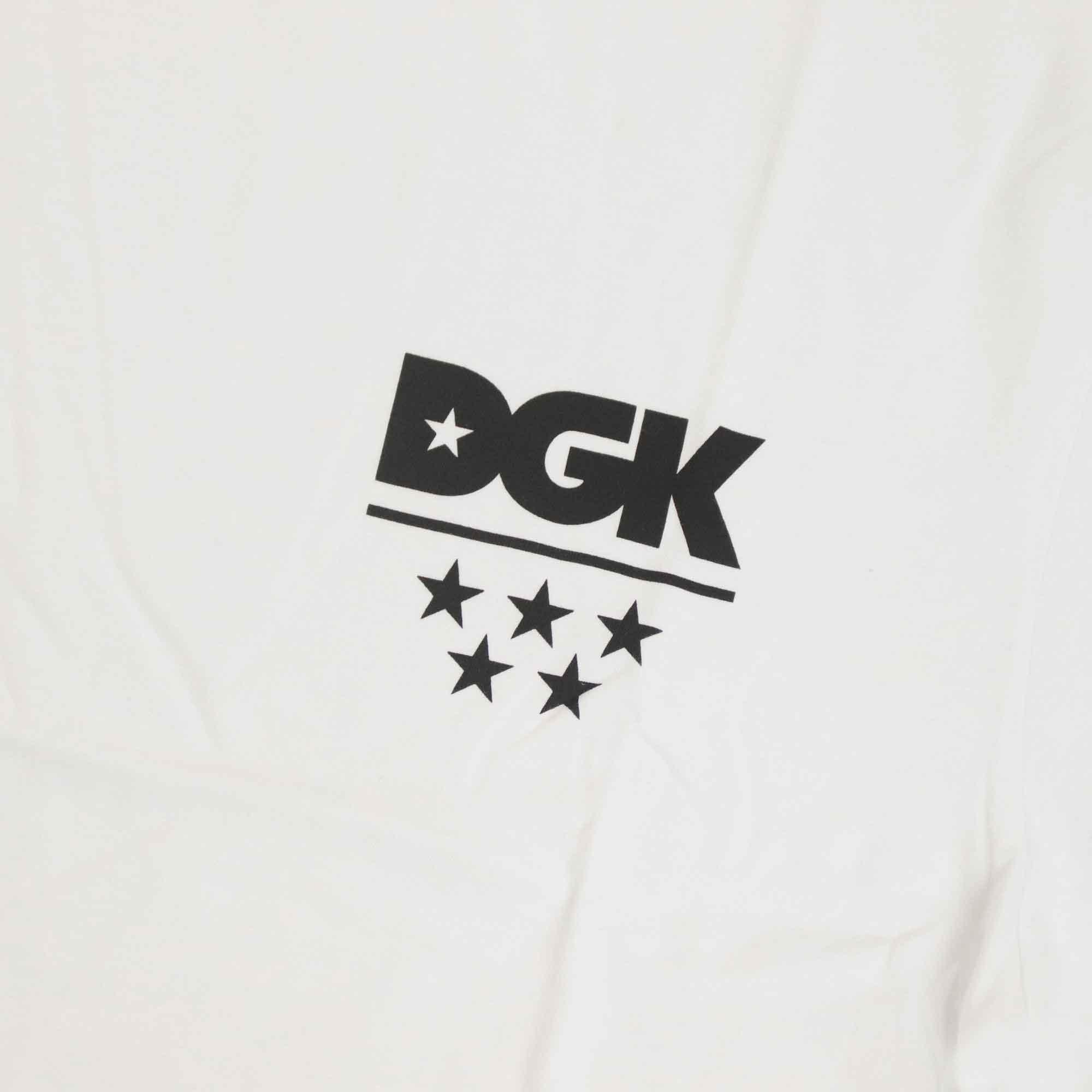 "Camiseta DGK ""All Star Mini"" Branca"