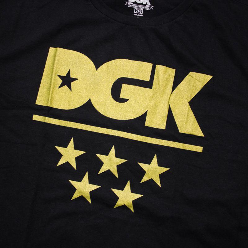 """Camiseta DGK """"All-Star"""" Preta"""
