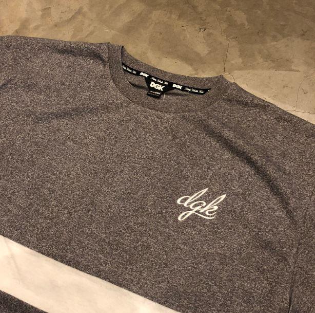 "Camiseta DGK ""Avenue S/S Knit"" Cinza"