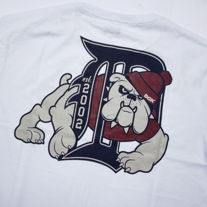 """Camiseta DGK """"Bully Heather"""" Branca"""