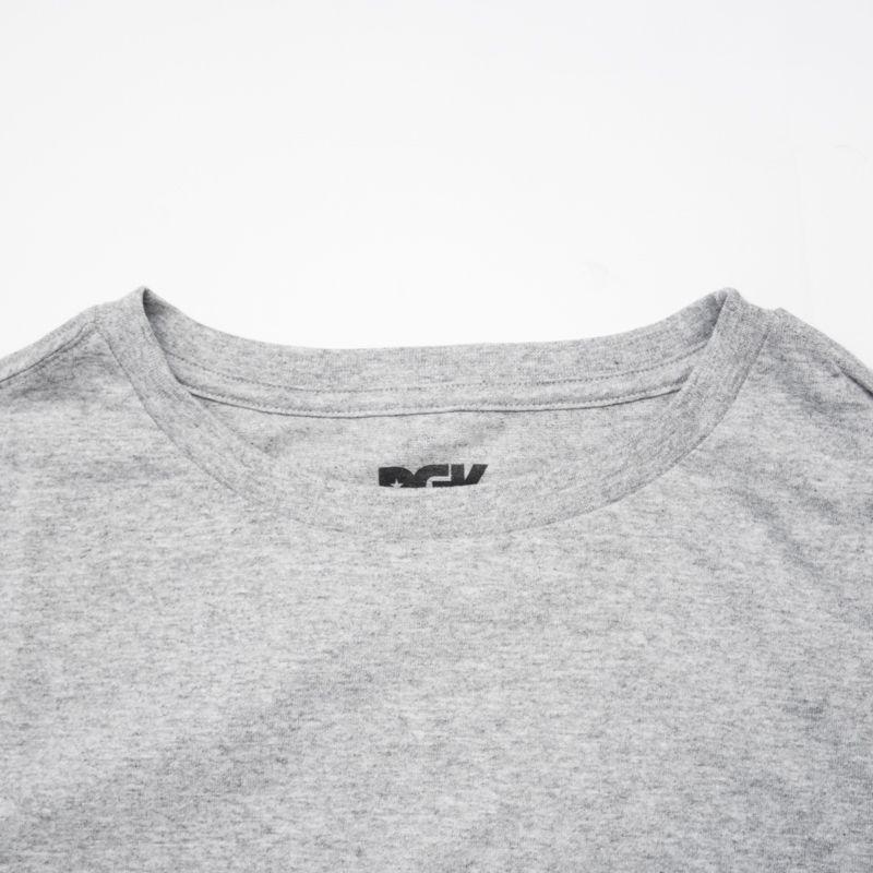 """Camiseta DGK """"Bully Heather"""" Cinza"""
