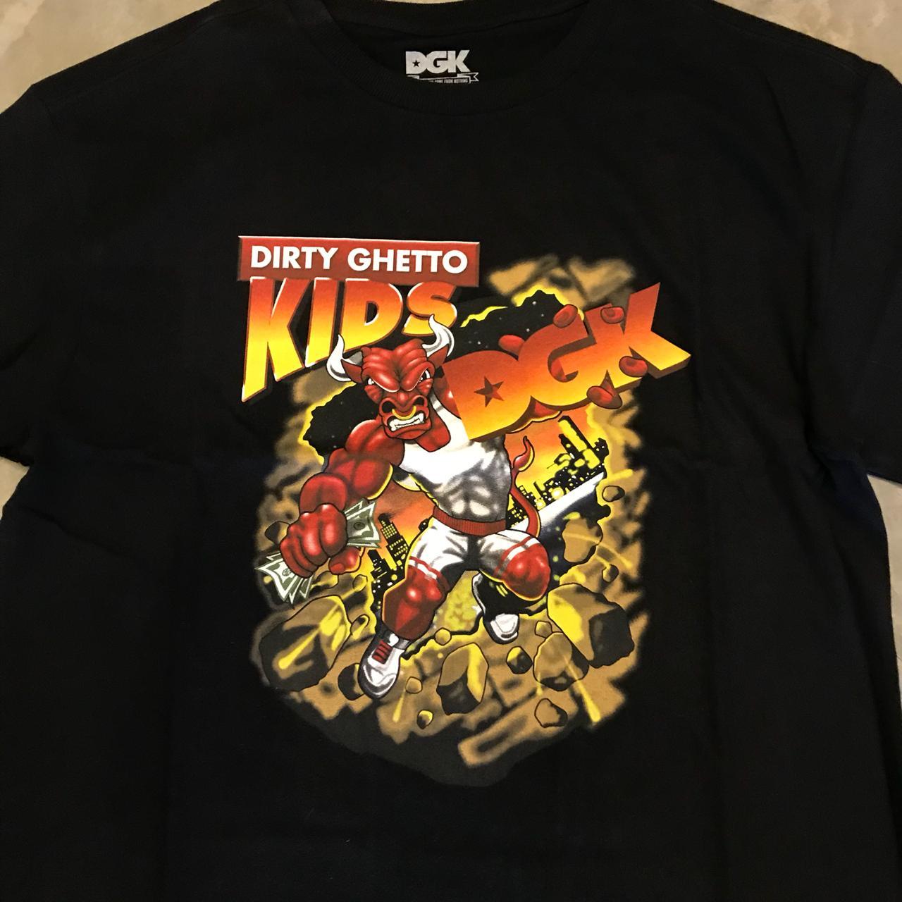 "Camiseta Dgk ""Bully"" Preta"