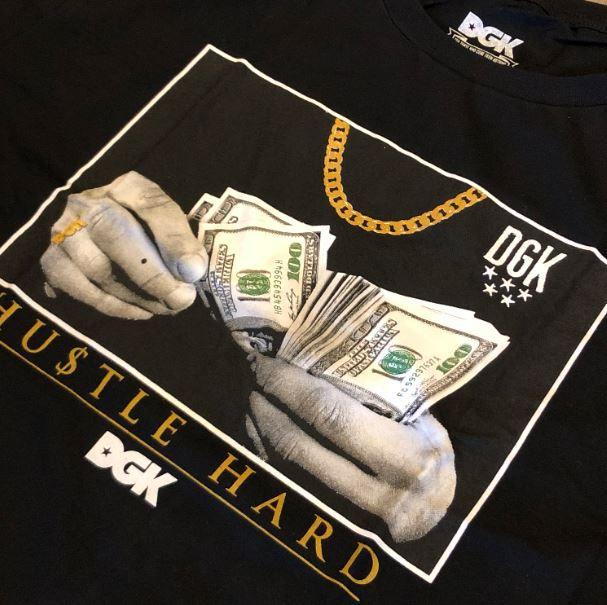 "Camiseta DGK ""Countin Loot"" Preto"
