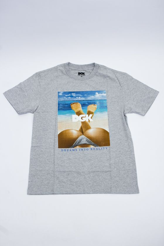 "Camiseta DGK ""Day Dream"" Cinza"