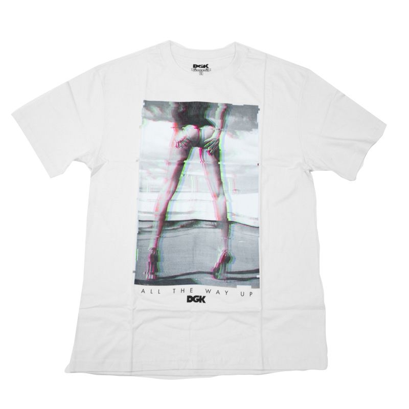 "Camiseta DGK ""End Of The Road"" Branca"