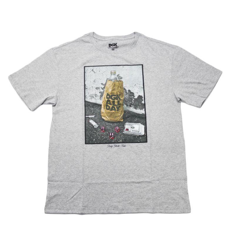 """Camiseta DGK """"Essentials"""" Cinza"""