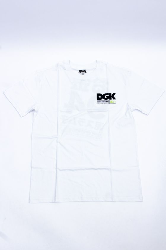 "CAMISETA DGK ""HIGH VIBES"" BRANCA"