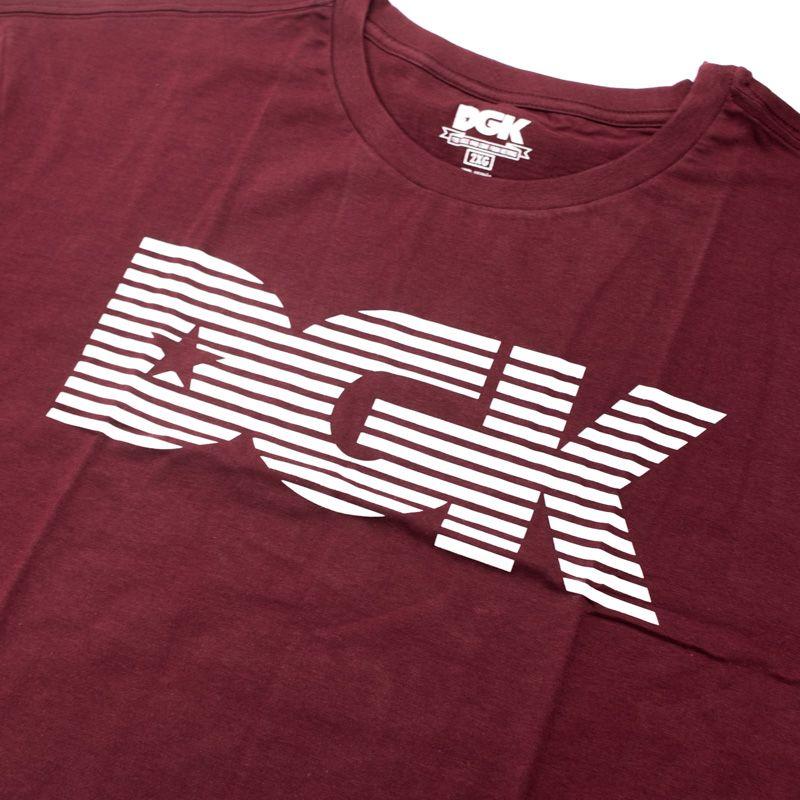 "Camiseta DGK ""Levels"" Bordô"