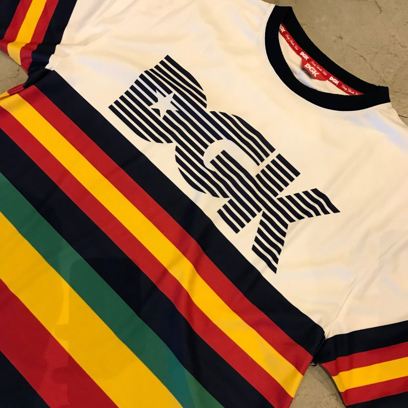 """Camiseta DGK """"Major"""" Branca"""