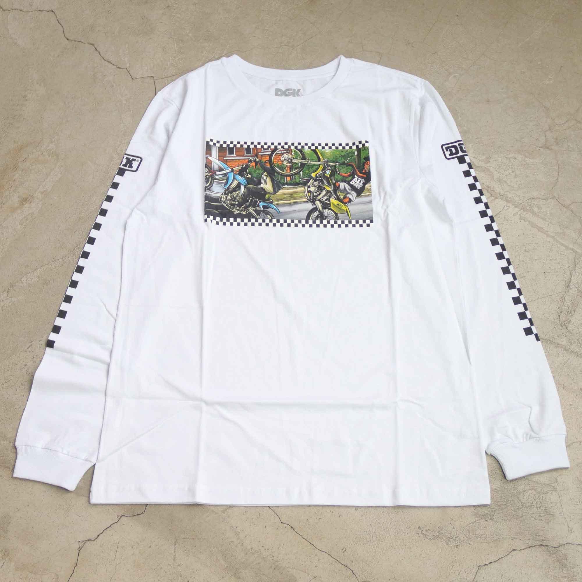 Camiseta DGK Manga Longa