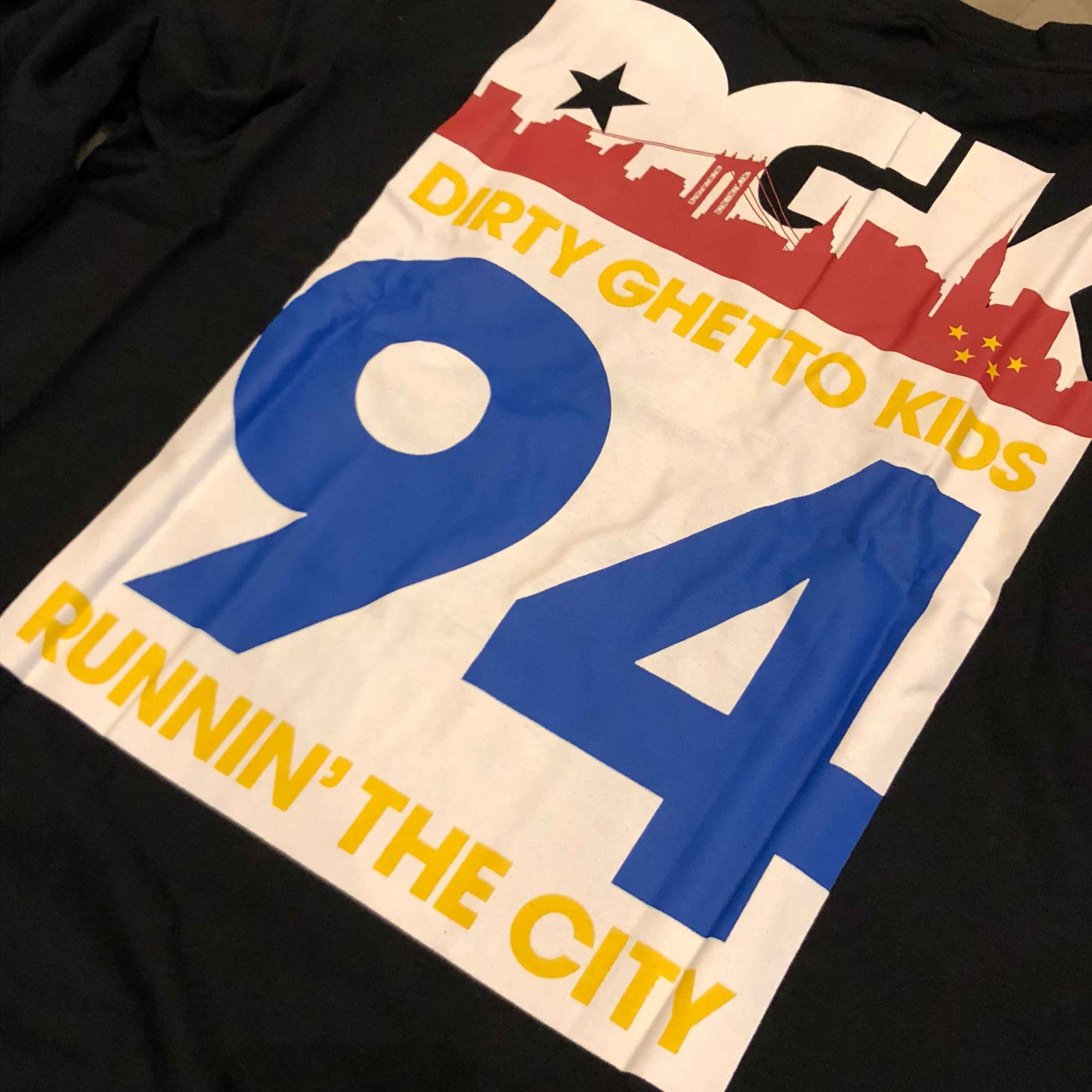 "Camiseta DGK Manga Longa ""Runnin"" Preta"