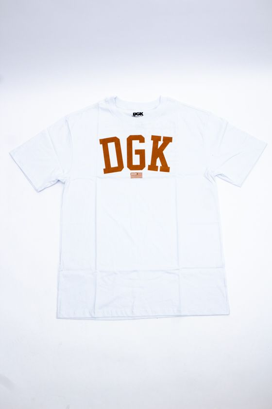 "CAMISETA DGK ""PAST TIME"" BRANCA"