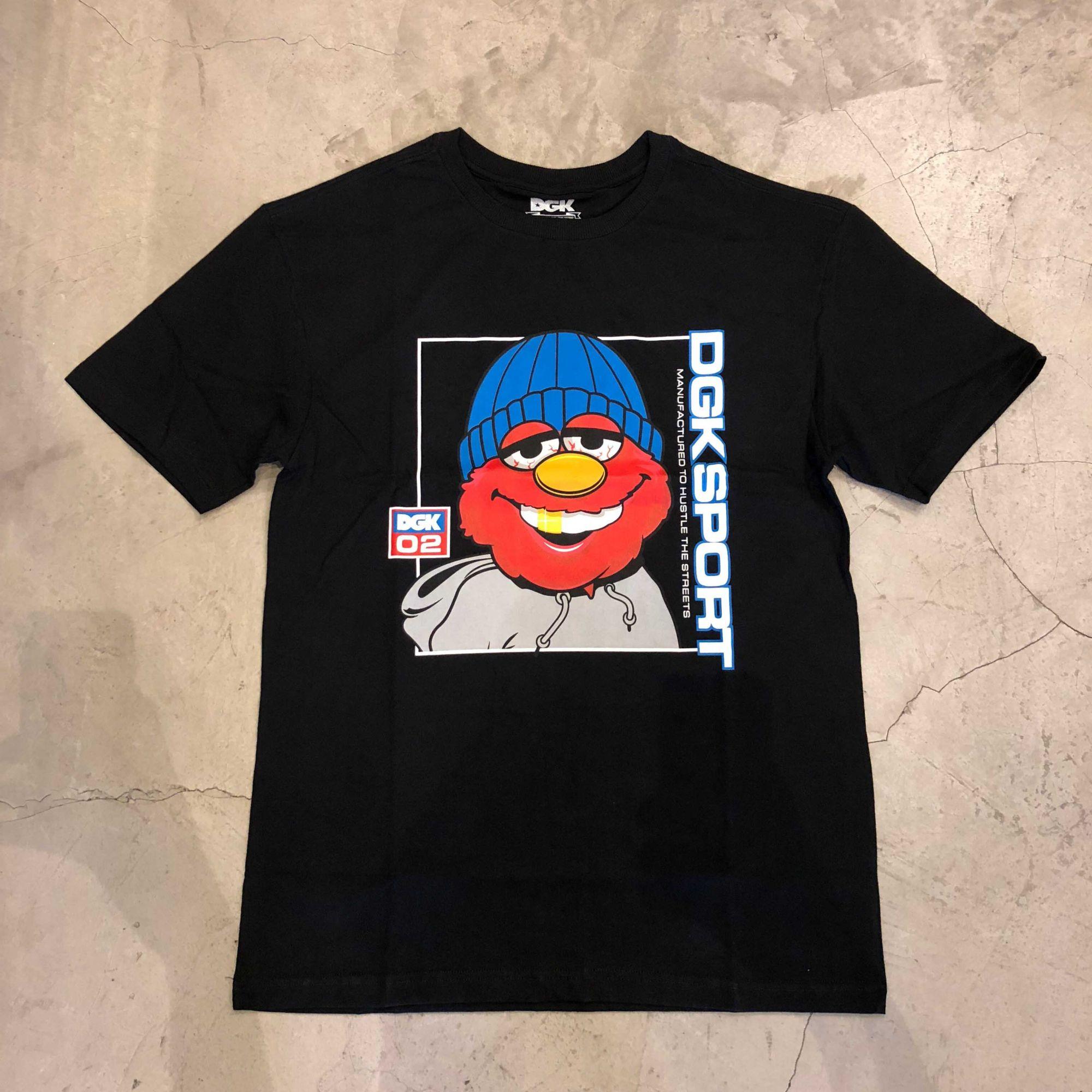"Camiseta dgk ""Plug"" Preta"