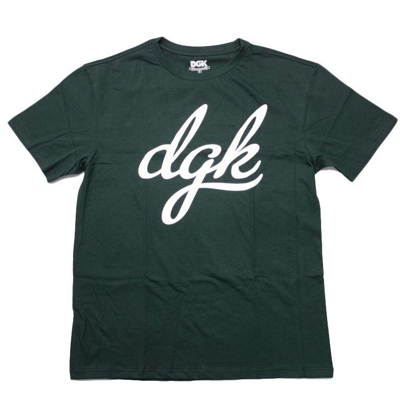 """Camiseta DGK """"Script"""" Verde"""