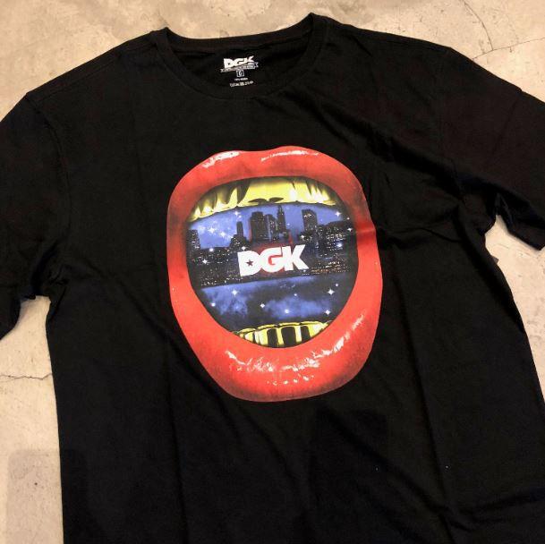 "Camiseta dgk ""Sounds"" Preta"