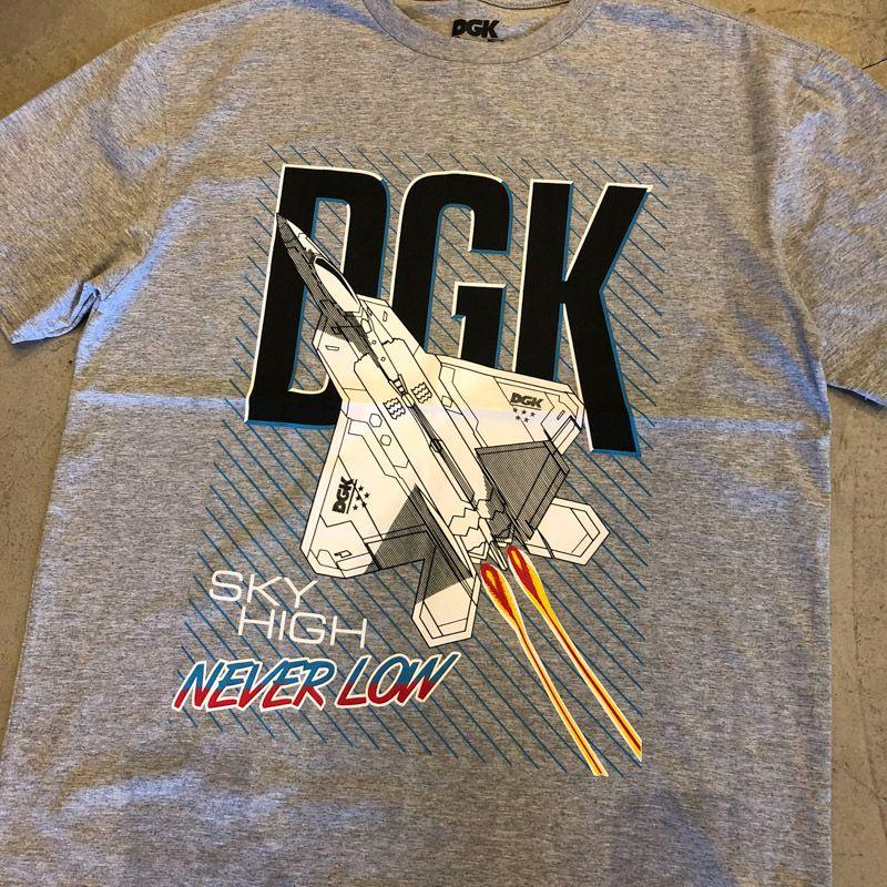 """Camiseta dgk """"Sky High"""" Cinza"""