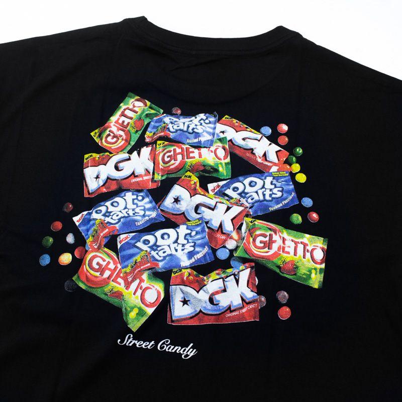 "Camiseta DGK ""Street Candy"" Preta"