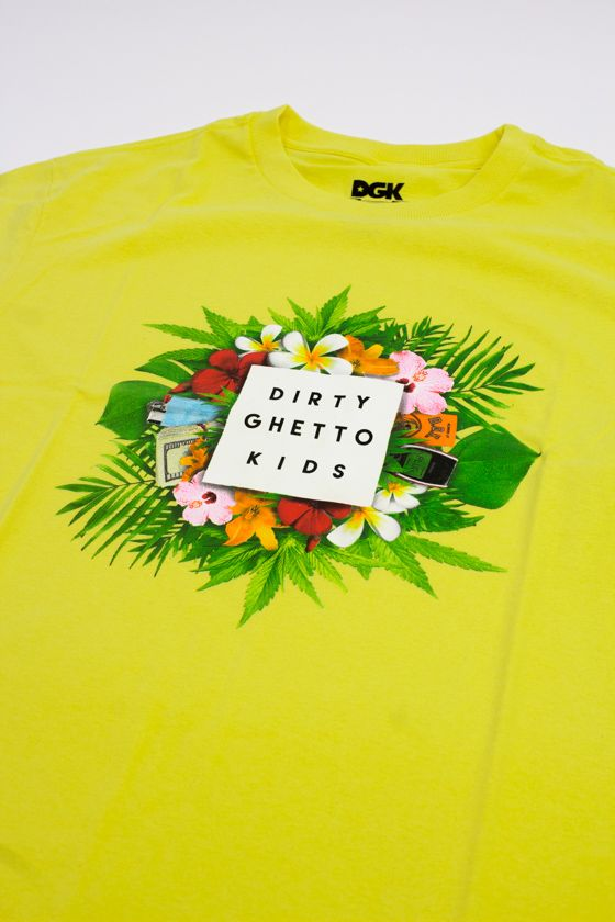 "CAMISETA DGK ""WEEKEND"" AMARELA"