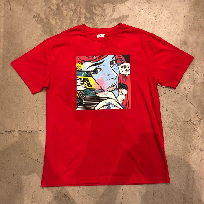 """Camiseta DGK """"Who Dis"""" Vermelha"""