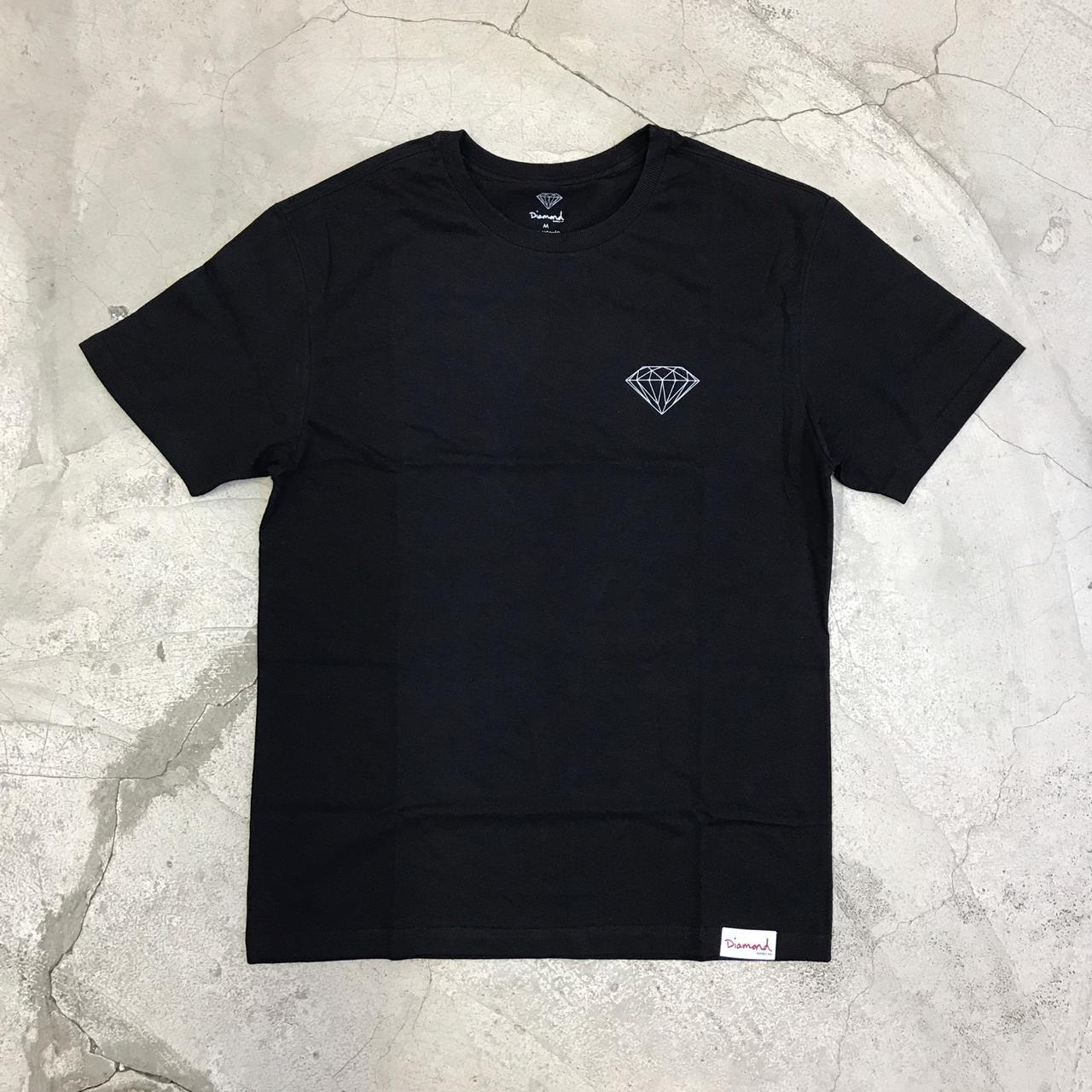 Camiseta Diamond Brilliant Preta