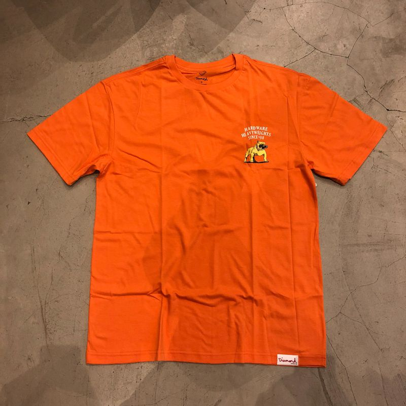 "Camiseta Diamond ""Bulldog"" Laranja"