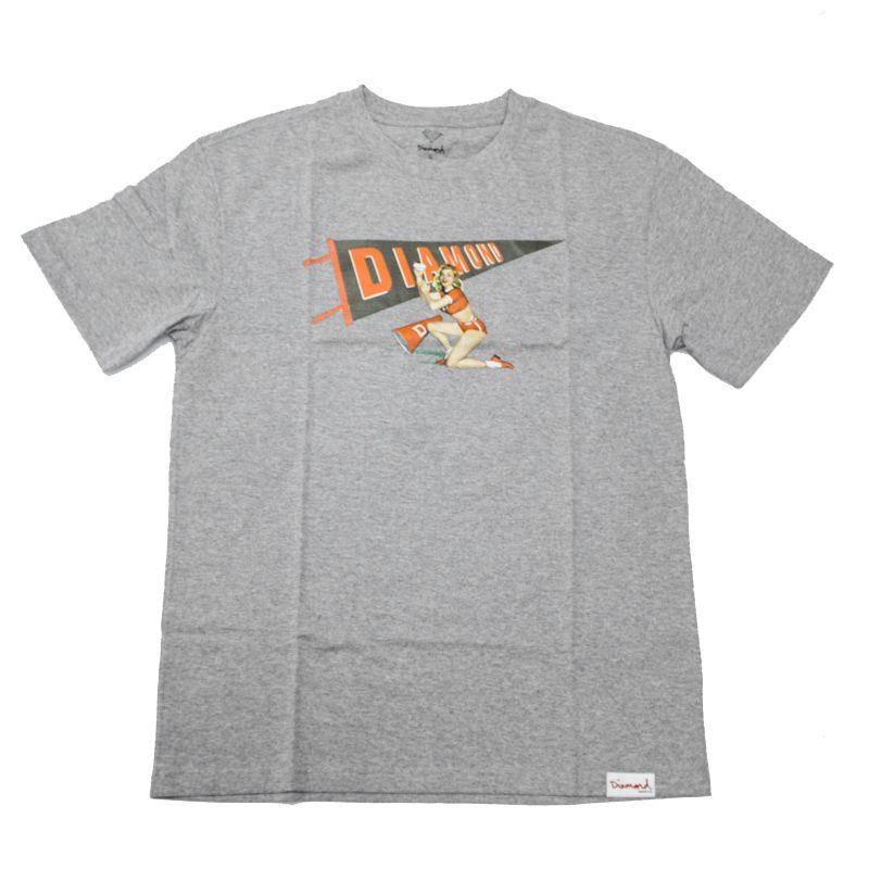 """Camiseta Diamond """"Cheers"""" Cinza"""