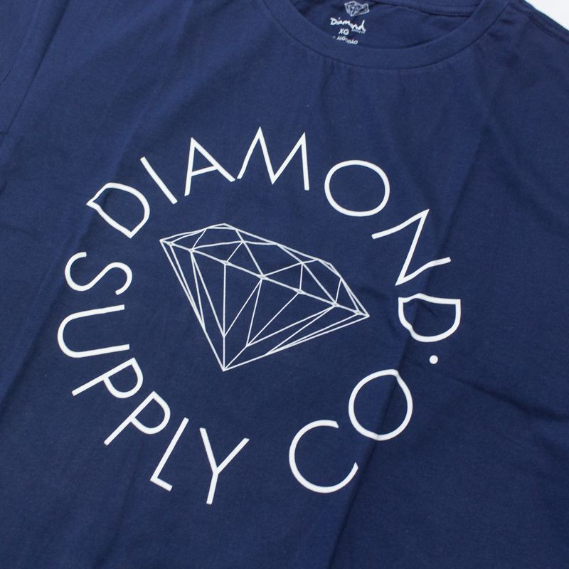 "Camiseta Diamond ""Circle Logo"" Azul"
